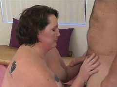 stud and fattie are having fine oral pleasure before camera