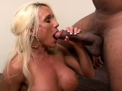 busty blonde mature interracial booty penetrated