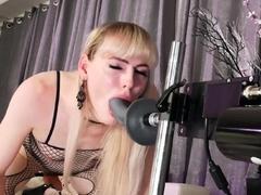 TRANSEROTICA Lianna Lawson Fucked By Big Cock Sex Machine