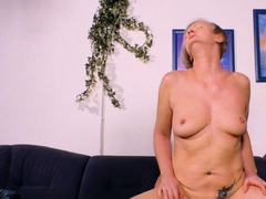 german blonde mature mom seduced her son