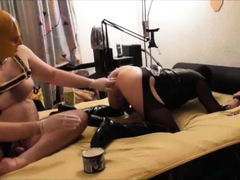 fucking-pissing-on-and-fisting-crossdresser-slave-part-4