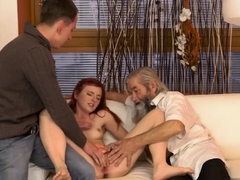 While daddy is away xxx Unexpected experience with an