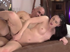 Old man sex girl movies and silver daddies first time