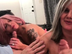 hot-blonde-swinger-housewives-blowing-two-fat-cocks