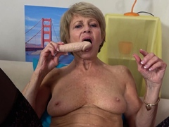 skinny-old-grandma-first-time-on-video