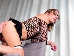 Tgirl Fucks Her New Teen Trap GF!