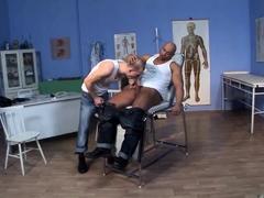 Skinhead Cum Clinic Scene 03