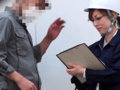 Asian worker wets herself