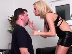 lady-isa-hard-face-slaps-slave-joschi