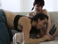 Ts models Chanel and Lena anal sex