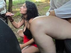 Amateur threesome 283 brunette