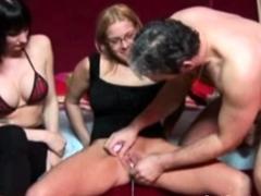 Awkward Threesome With Two Dutch MILFs