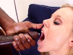 Slim MILF Rough Interracial Anal Sex by BBC Friend of Son