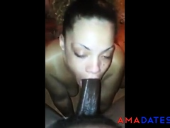 STUFFING BBC DOWN HER THROAT