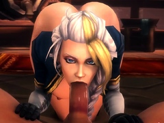 Hot Girls from Video Games Wild Fucks in All Poses