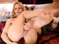 Cute hot blonde anal trans show live on Cruisingcams com