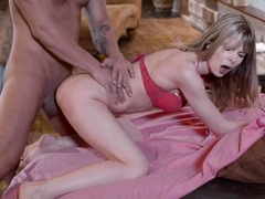 LETSDOEIT - Sensual handjob and passionate pool sex