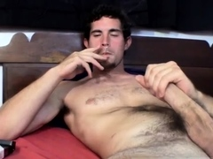 The art of male masturbation video gay Sexy and hairy 23