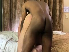 Gay interracial bareback