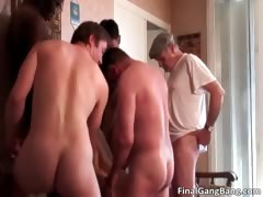 Nasty Hairy Milf Slut Blows Cock Part1