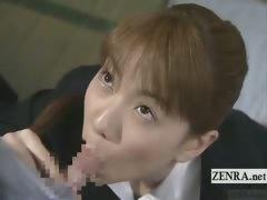Subtitle Japan Kurumi Morishita Teacher Student Blowjob