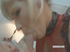 Blonde Housewife Jolene Getting Fucked