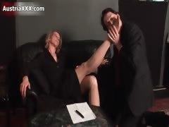 Nasty Old Slut Gets Horny Part3