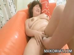 Kumiko Kaga A Chubby Mature Japanese Craving For A Fuck